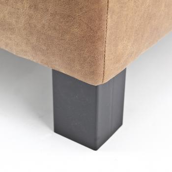Blokpoot metaal zwart